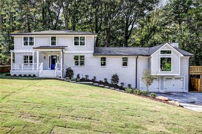Atlanta Single Family Home For Sale: 2184 Meadowcliff Drive NE