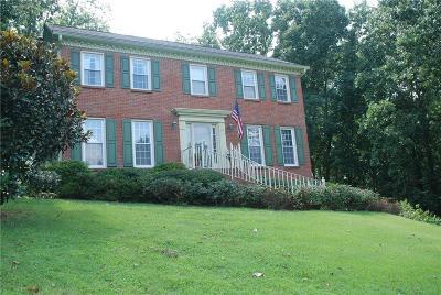 Single Family Home For Sale: 1390 Pinehurst Hunt