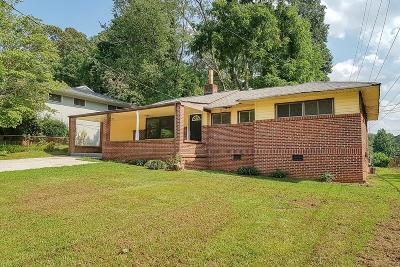 Decatur GA Single Family Home For Sale: $197,900