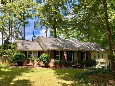 Alpharetta Single Family Home For Sale: 1890 Evergreen Lane