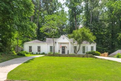 Atlanta Single Family Home For Sale: 411 Allison Drive NE