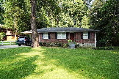 Atlanta Single Family Home For Sale: 1529 Berkeley Lane NE