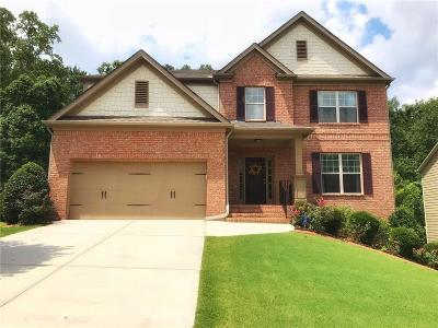 Acworth Single Family Home For Sale: 4761 Arbor View Parkway NW