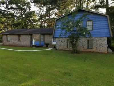 Lilburn Single Family Home For Sale: 3957 Yellow Pine Drive SW