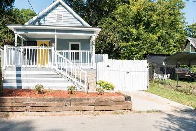 Atlanta Single Family Home For Sale: 859 Welch Street