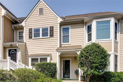 Alpharetta GA Condo/Townhouse For Sale: $185,000