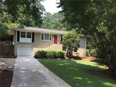 Smyrna Single Family Home For Sale: 3176 Ann Road SE