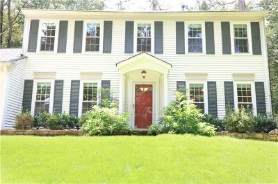 Marietta Single Family Home For Sale: 2101 Bishop Creek Drive