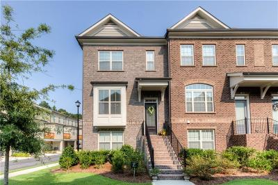 Alpharetta  Condo/Townhouse For Sale: 1071 Township Square