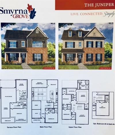 Smyrna Single Family Home For Sale: 2053 White Cypress Court