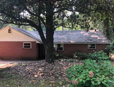 Atlanta Single Family Home For Sale: 3160 Mt Gilead Road SW