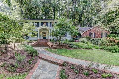 Atlanta Single Family Home For Sale: 1080 Mountain Creek Trail