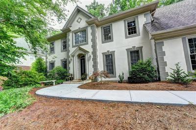 Alpharetta Single Family Home For Sale: 5305 Bannergate Drive