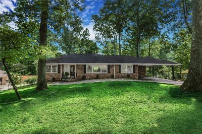 Atlanta Single Family Home For Sale: 2511 Clairmont Road NE