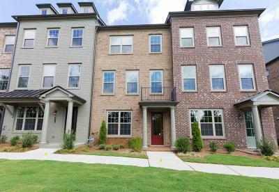 Roswell Condo/Townhouse For Sale: 10110 Windalier Way