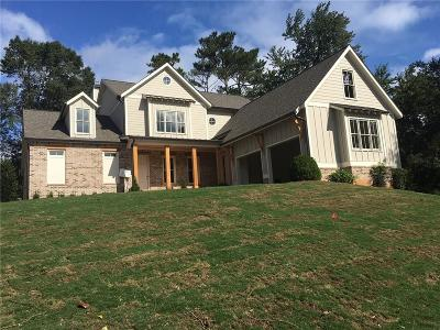 Smyrna Single Family Home For Sale: 3858 Hillcrest Drive
