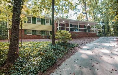 Atlanta Single Family Home For Sale: 1072 Mason Woods Drive NE