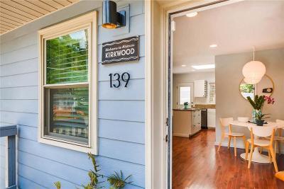 Atlanta Condo/Townhouse For Sale: 139 Bixby Terrace SE