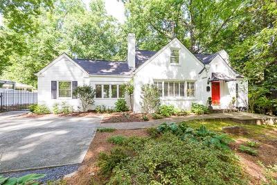 Atlanta Single Family Home For Sale: 3304 Mathieson Drive NE