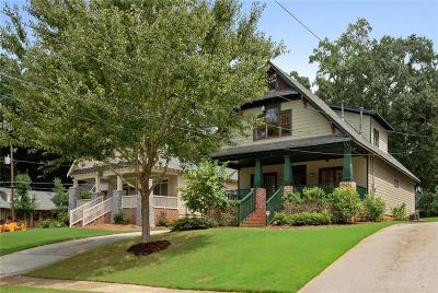 Atlanta Single Family Home For Sale: 91 Lakeview Drive NE