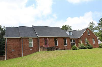 Cartersville Single Family Home For Sale: 21 Euharlee Five Forks Road