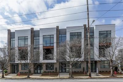 Atlanta Condo/Townhouse For Sale: 713 Moreland Avenue SE #1