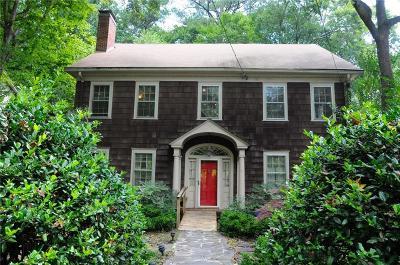Druid Hills Single Family Home For Sale: 1111 Clifton Road NE