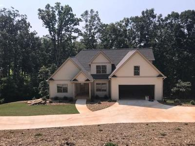 Dawsonville Single Family Home For Sale: 304 Old White Oak Trail