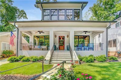 Atlanta Single Family Home For Sale: 1362 N Morningside Drive NE