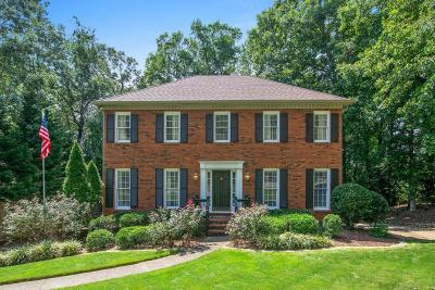 Marietta Single Family Home For Sale: 1577 Greyson Ridge