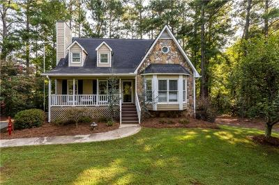 Acworth Single Family Home For Sale: 5992 Old Stilesboro Road NW