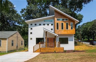 Atlanta Single Family Home For Sale: 1520 Woodbine Avenue SE