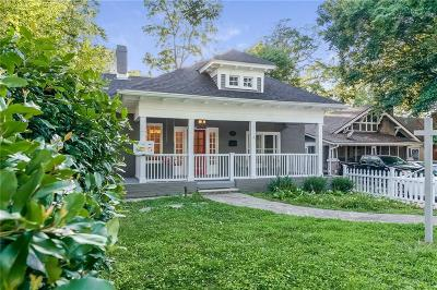 Virginia Highland Single Family Home For Sale: 970 N Highland Avenue NE