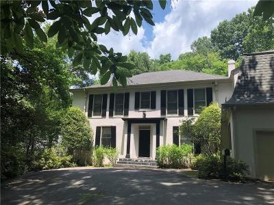Atlanta Single Family Home For Sale: 95 Blackland Road NW