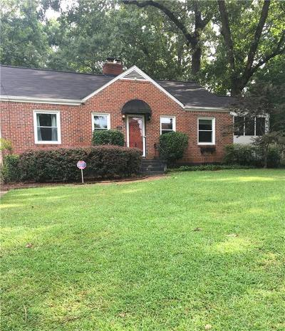 Decatur Single Family Home For Sale: 2900 Midway Road