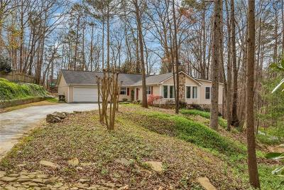 Single Family Home For Sale: 4070 S Berkeley Lake Road NW