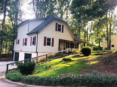 Marietta Single Family Home For Sale: 3466 Brookhill Circle