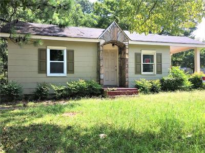 Atlanta GA Single Family Home For Sale: $89,900