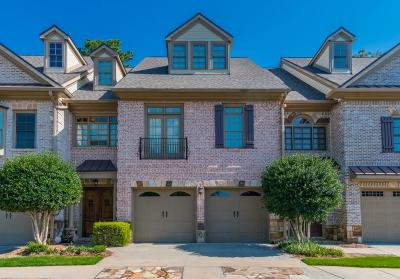 Johns Creek Condo/Townhouse For Sale: 6208 Clapham Lane