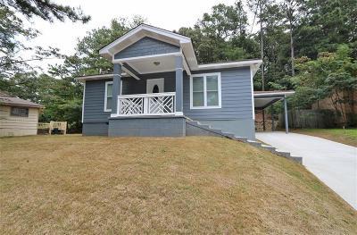 Marietta Single Family Home For Sale: 460 Barnes Mill Drive