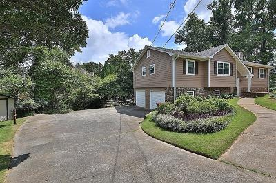 Marietta Single Family Home For Sale: 2278 Stoney Ford Drive