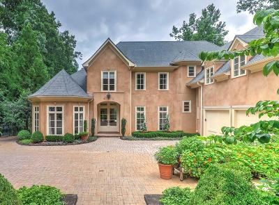 Cobb County, Fulton County Single Family Home For Sale: 1075 Heards Ferry Road