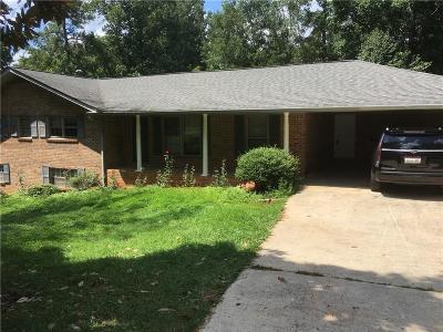 Marietta Single Family Home For Sale: 1436 Pair Road SW