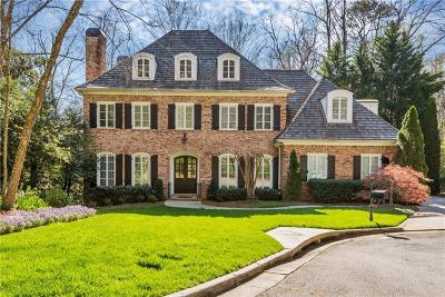 Sandy Springs Single Family Home For Sale: 4555 Peachtree Dunwoody Road