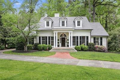 Cobb County, Fulton County Single Family Home For Sale: 4137 N Broadland Road NW