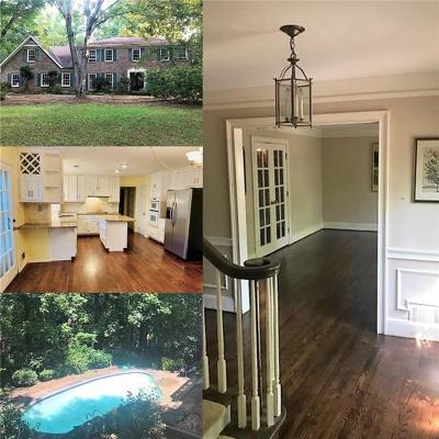 Sandy Springs Single Family Home For Sale: 200 Zeblin Road