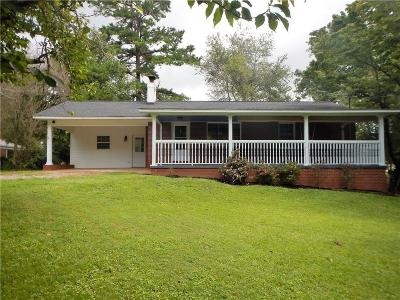 Flowery Branch Single Family Home For Sale: 6448 Paradise Point Road