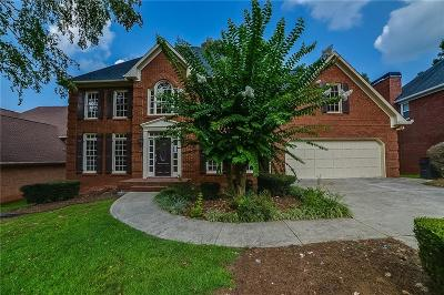 Acworth Single Family Home For Sale: 1384 Downington Lane NW