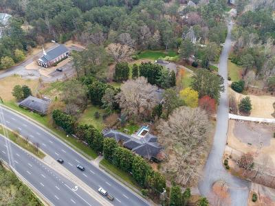 Roswell Single Family Home For Sale: 1900 Woodstock Road