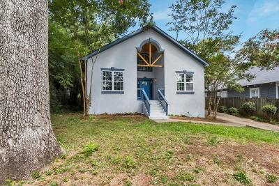 Atlanta Single Family Home For Sale: 2150 Memorial Drive SE